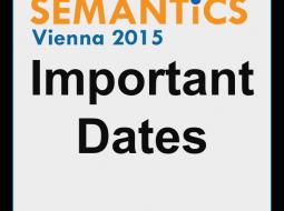 Semantics Conference Vienna 2015 Important Dates Social Grafic