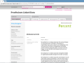 Voorbeeldpagina van de proeftuin Linked Data - havo eindexamens (K12-exam-app for students and teachers - based on Linked Open Data)